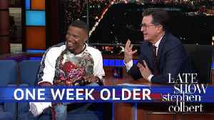 News video: One Week Older, Foxx & Friends
