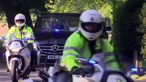 News video: Royal Wedding: Prince Harry leaves Ascot hotel for Windsor