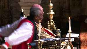 Royal wedding: Guests amused by US bishop's very long sermon