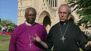 News video: Justin Welby and Michael Curry loved royal wedding