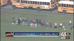 News video: How do shootings impact child's mental health?