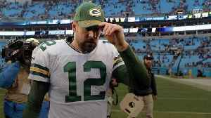 News video: Aaron Rodgers On Pace To Reach Record Held Only by Brett Favre and Peyton Manning