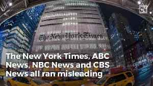 News video: NYT Lied About Trump's Words So Readers Would Think He Called Immigrants 'Animals'