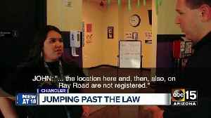 News video: More trampoline parks found not to be following Arizona law