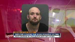 News video: Man who threatened woman with machete & tied her up charged with sexually battering another woman