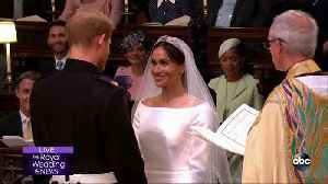 News video: ROYAL WEDDING | Prince Harry and Meghan Markle are announced husband and wife