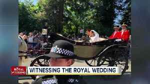 News video: Witnessing the Royal Wedding