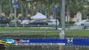 News video: CBS4 News Ted Scouten On Shooting At Trump National Doral