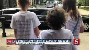 News video: Students Participate In Battle Of The Books