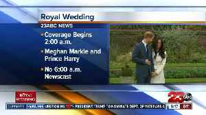 News video: 23 ABC will give you live coverage of the Royal Wedding