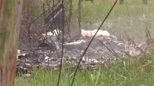 News video: Plane Crashes In Cuba