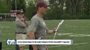 News video: Kirk Cousins says Michigan will always be home