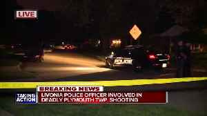 News video: Man dead in Plymouth Township in officer involved shooting