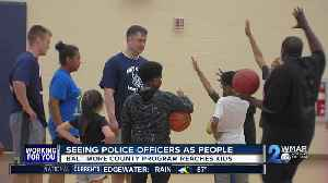 News video: Clinic designed to help kids understand that police do more than