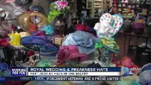 News video: Local hat maker's creations dawned at Preakness and Royal Wedding