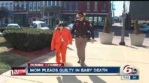 News video: Boone County woman pleads guilty in baby death