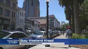 News video: Graduations, Bike Race, Concert Make For Busy Weekend In Sacramento