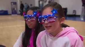 News video: Students at Meghan Markle's High School Watch Royal Wedding in Pajamas