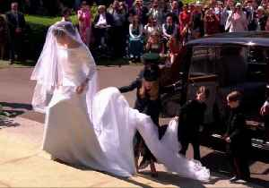 News video: Royal Family Arrives at St George's Chapel For Wedding