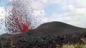 News video: New Video Shows Eruption From The Hawaii Volcano
