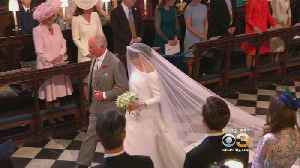 News video: Prince Charles Walks Meghan Markle Down The Aisle At Royal Wedding