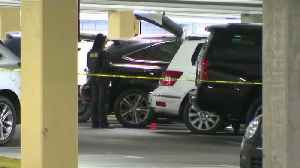 News video: Woman Accused of Stabbing Woman to Death in Southern California Parking Garage