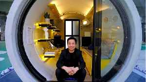 News video: Architect Designs 'Tube Homes' To Help Combat Housing Crisis In Hong Kong