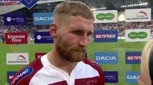 News video: Tomkins hails Wigan's perfomance