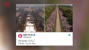 News video: Why Jimmy Carter, JK Rowling and the BBC All Are Taking a Jab at Trump on Crowd Size