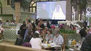 News video: New Yorkers Watch Royal Wedding