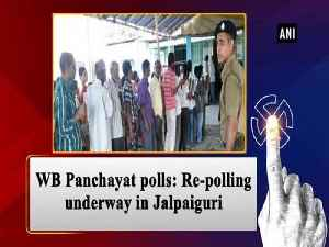 News video: WB Panchayat polls: Re-polling underway in Jalpaiguri