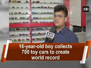 News video: 16-year-old boy collects 700 toy cars to create world record
