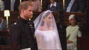 News video: Traditional royal wedding ceremony gets a modern feel