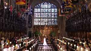 News video: The most romantic moments from yesterday's royal wedding