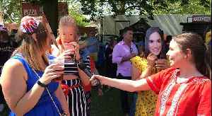 News video: Meeting The Crowds at the Royal Wedding!