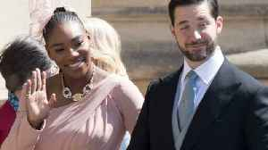 News video: Serena Williams Wore Sneakers At Royal Wedding Because Why Not