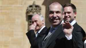 News video: Rick Hoffman Explains His Disgusted Face At Royal Wedding On Instagram