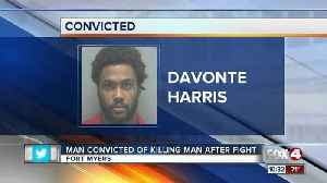 News video: Man Convicted of Killing Man After Fight