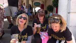 News video: American royal revellers give their verdict on wedding