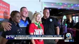 News video: Fundraiser held for West Palm Beach stabbing victim