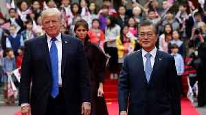 News video: Trump And Moon Discuss Summit After North Korea's Shift In Attitude
