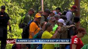 News video: Hundreds Gather To Search For Body Of Joe Clyde Daniels