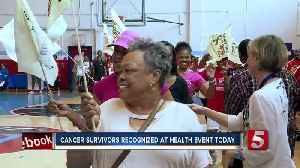 News video: Cancer Survivors Honored At Healthy Family Day