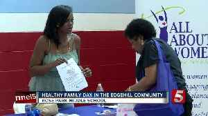 News video: Healthy Family Day Held In Edgehill Community