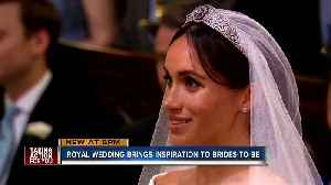 News video: Royal wedding inspires brides-to-be