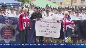 News video: British Cops Join Charity Run In NYC