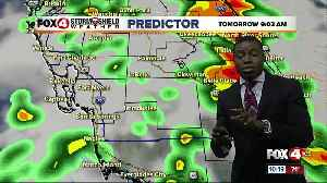 News video: More cloudy and wet weather expected Sunday