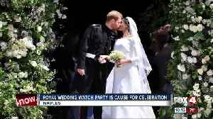News video: Royal Wedding Watch Party in Naples