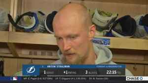 News video: Anton Stralman: I think we backed off too much after taking the lead