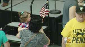 News video: Armed Forces Day Event Helps Service Members Move To Civilian Life